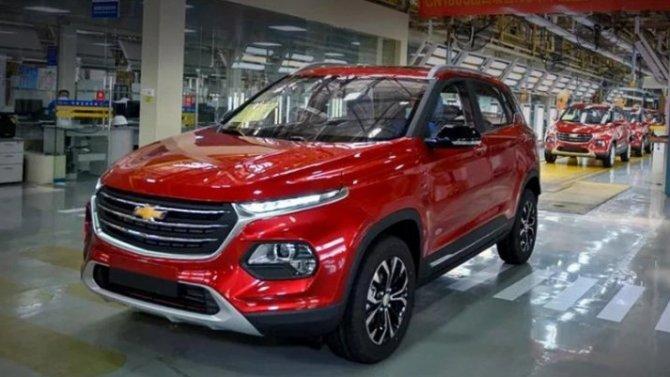 Представлен новый кроссовер Chevrolet Groove