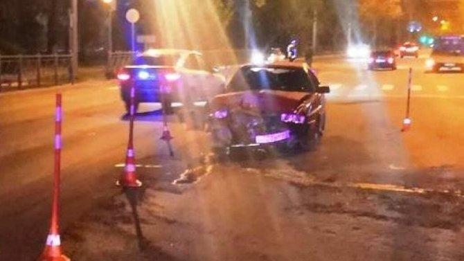 В ДТП в Великом Новгороде пострадали трое