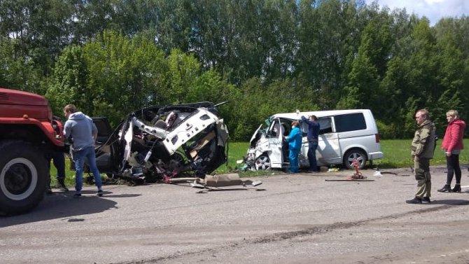 Три человека погибли в ДТП в Тамбовской области