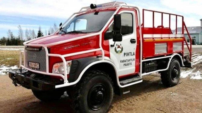«ГАЗон Садко NEXT» стал пожарным