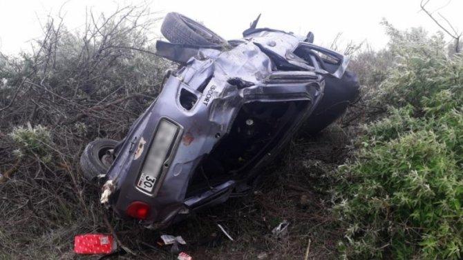 В ДТП под Астраханью погибли два человека