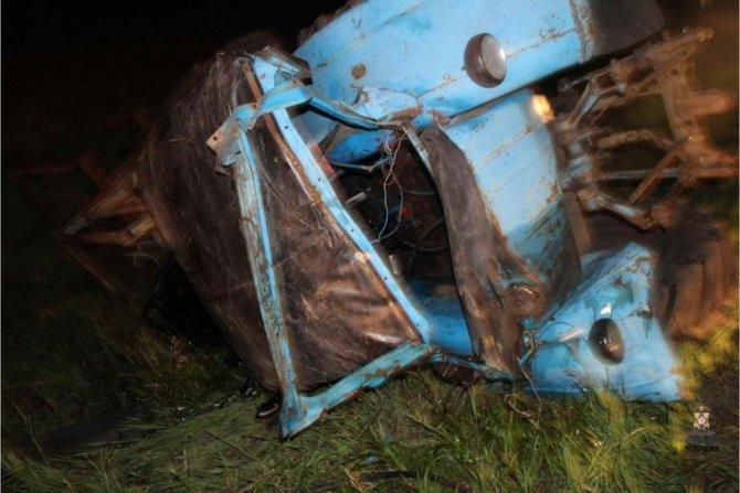 Молодой тракторист погиб в ДТП в Омской области (1)