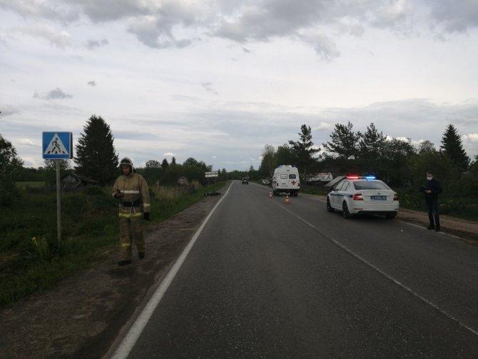 Пассажирка скутера погибла в ДТП в Сокольском районе (1)