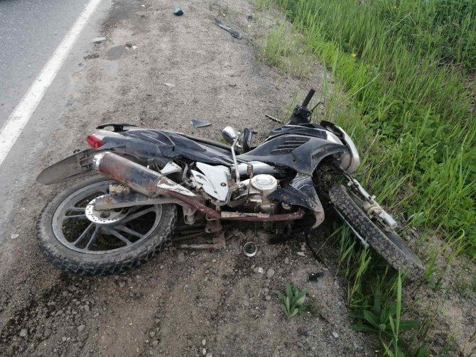Пассажирка скутера погибла в ДТП в Сокольском районе (2)