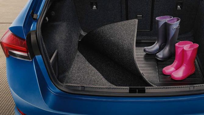 Skoda Rapid 2020 багажник