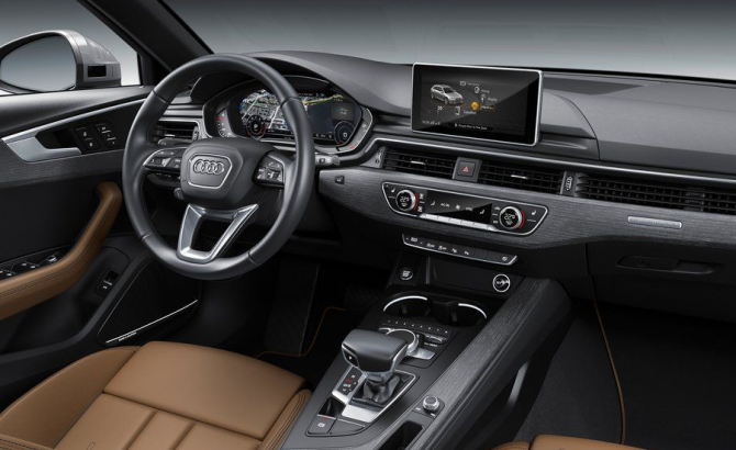 Audi A4 Avant универсал салон