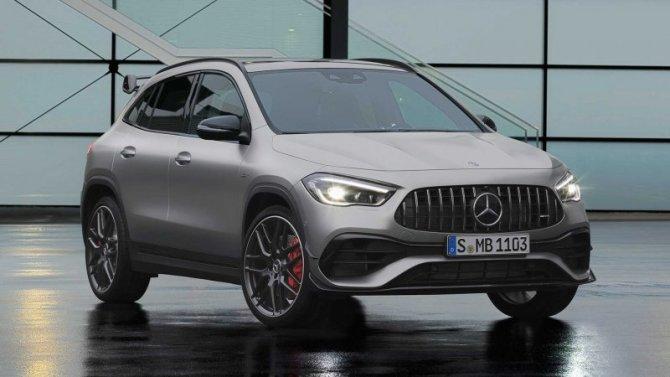 Известны рублёвые цены нового Mercedes-AMG GLA