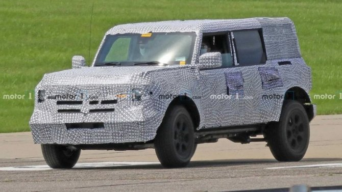 Ford Bronco: известны сроки презентации