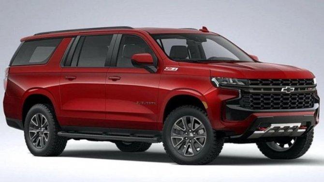Новый Chevrolet Suburban получил модификацию повышенной проходимости