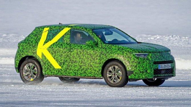 Оновом Opel Mokka сняли видеоролик