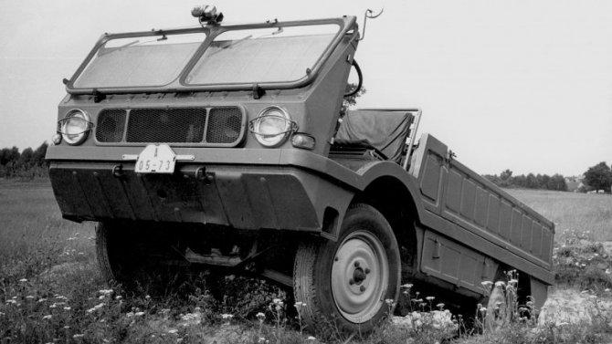125 лет ŠKODA: внедорожник Agromobil, который снялся в кино