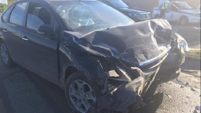 Двое детей и взрослый пострадали в ДТП в Волжском районе