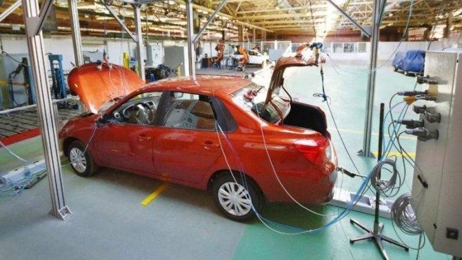 «АвтоВАЗ» запустил новые испытательные стенды