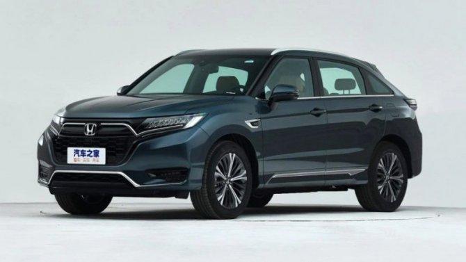 Представлен обновлённый кроссовер Honda UR-V