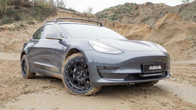 Tesla Model 3 стала кроссовером