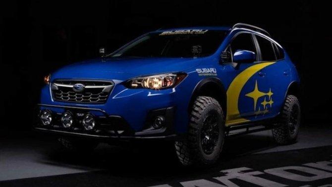 Кроссовер Subaru Crosstrek стал раллийным болидом