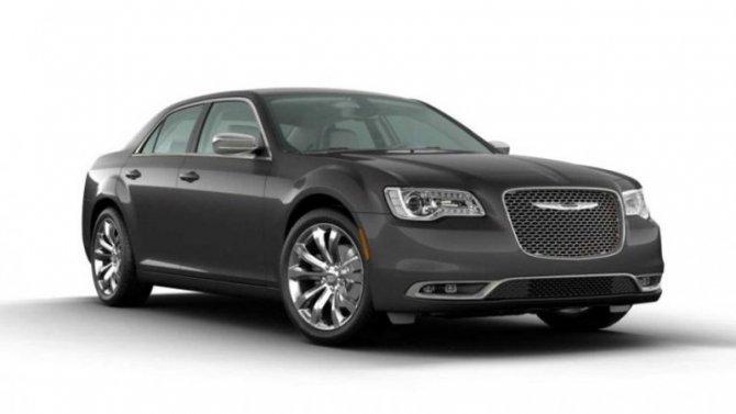 Chrysler 300 получил новое исполнение