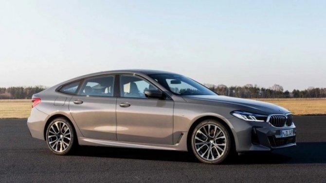 Представлен обновлённый лифтбек BMW 6-SeriesGT