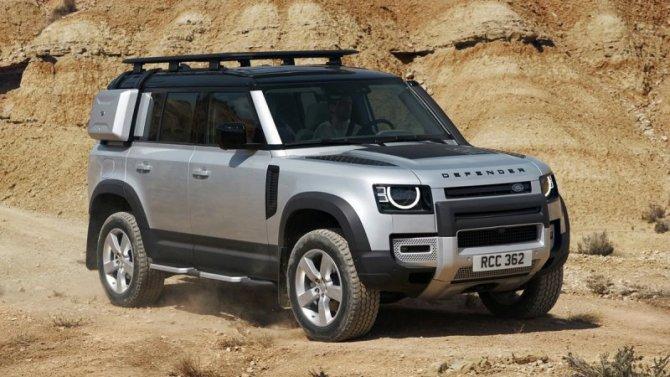 ВРоссии начались продажи Land Rover Defender