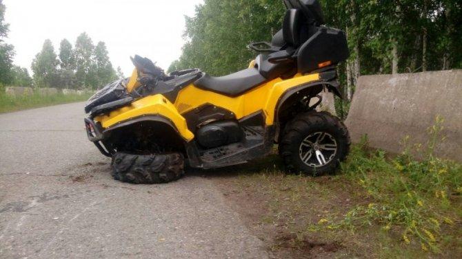 Пассажирка квадроцикла погибла в ДТП в Шарыповском районе Красноярского края