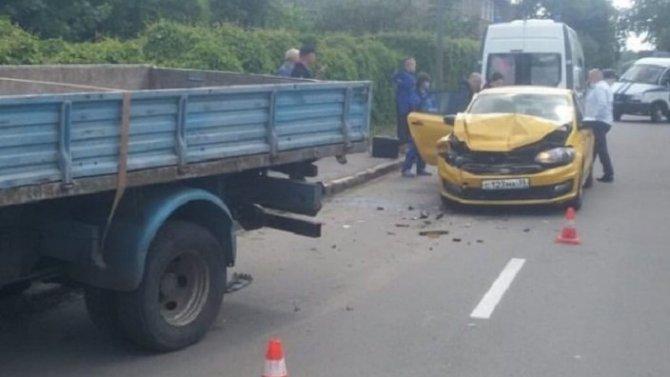В Советске в ДТП погибла пожилая пассажирка такси