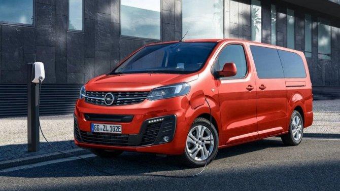 Представлен электрофургон Opel Zafira-e Life
