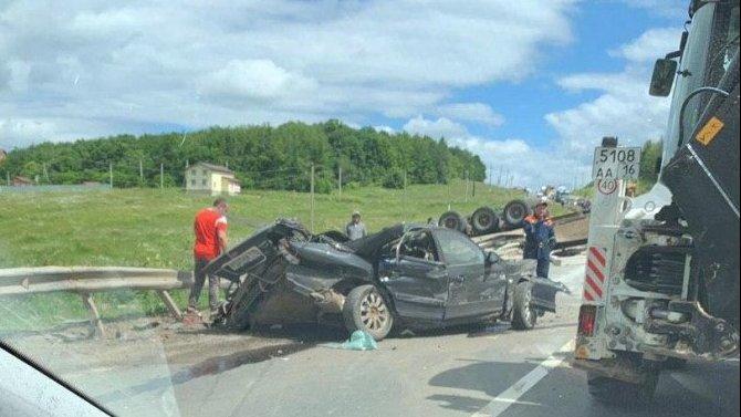 Три человека погибли в ДТП в Пестречинском районе Татарстана