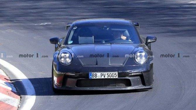 На «Нюрбургринге» замечен новый Porsche 911 GT3