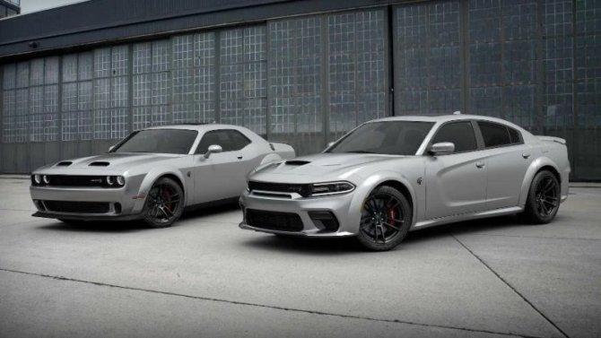 Обновлены знаменитые масклкары Dodge