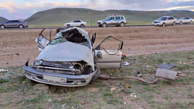 В ДТП в Кош-Агачском районе погибли двое