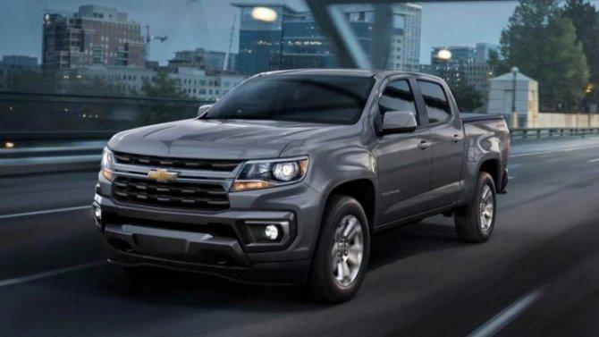 Обновлён пикап Chevrolet Colorado