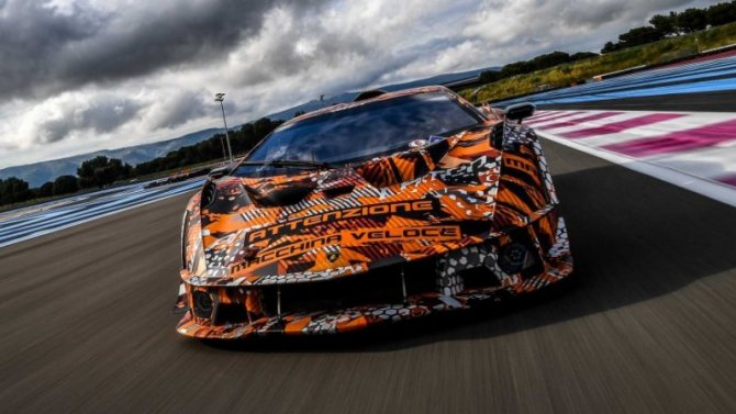 Рассекречен новый гиперкар Lamborghini SCV12