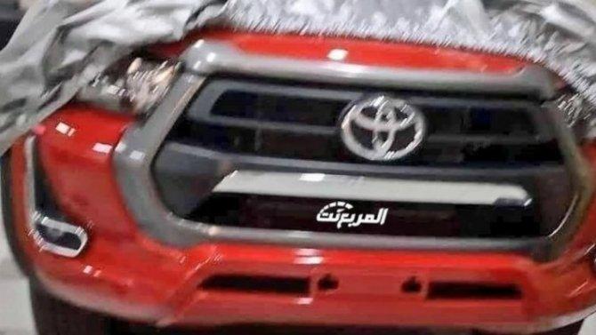 Стала известна внешность нового пикапа Toyota Hilux
