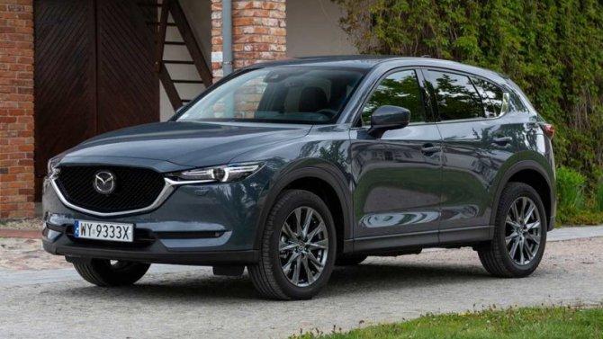Mazda CX-5 прошла небольшой рестайлинг