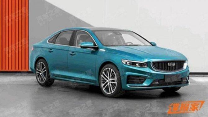 Geely создаёт новый седан на базе Volvo S60