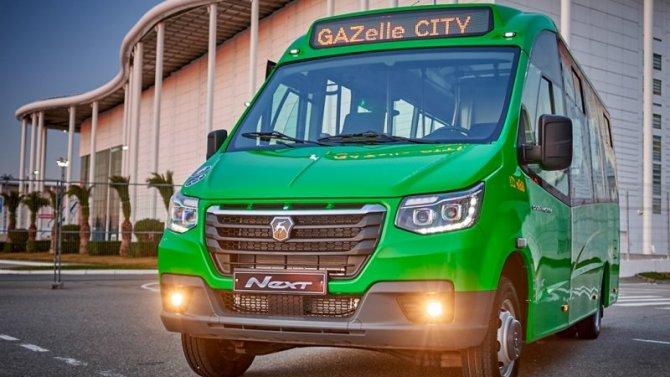 Микроавтобус «ГАЗель City» получил новую компоновку салона