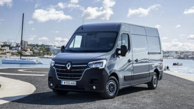 Начался приём заказов нановый Renault Master