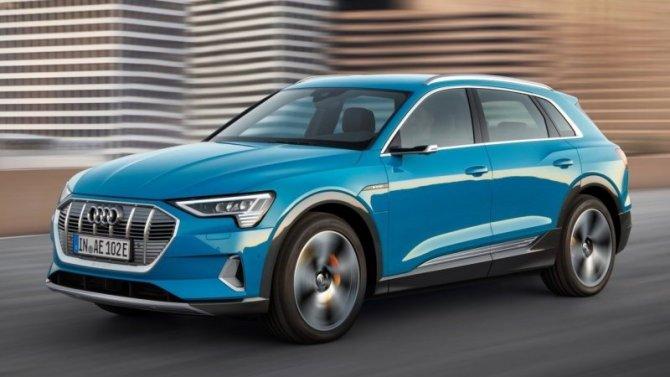 Audi e-Тron прибудет вРоссию уже модернизированным
