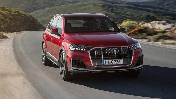 ВРоссии начались продажи обновлённого Audi Q7