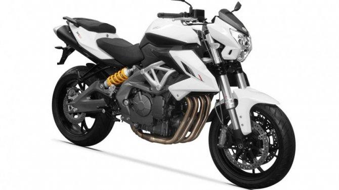 Начались продажи нового мотоцикла Benelli