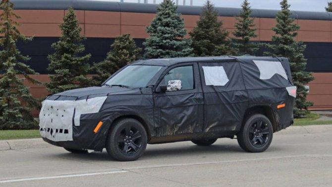 Продолжаются испытания возрождённого Jeep Grand Wagoneer