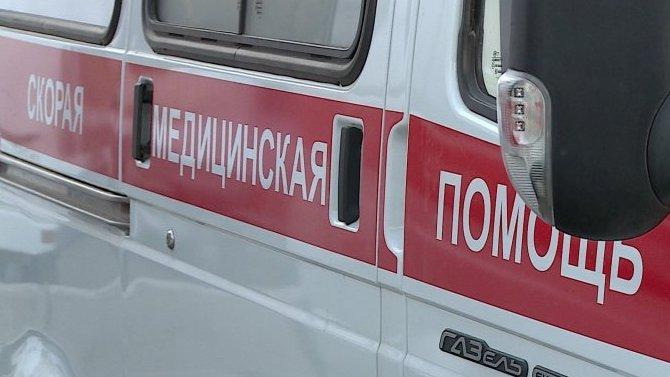 В Курской области иномарка сбила женщину и двух детей на тротуаре