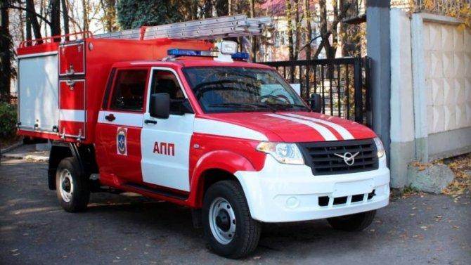 «УАЗ Профи» снова стал пожарным автомобилем