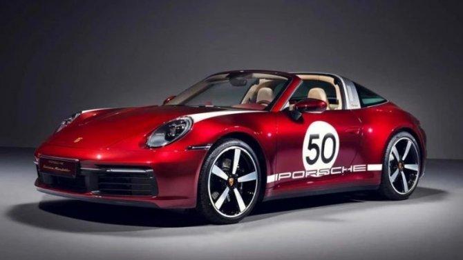 Спорткар Porsche 911 Targa получил эксклюзивное исполнение