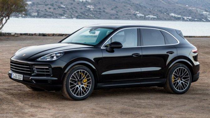 Падение рубля: подорожали три модели Porsche