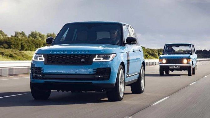 Представлено юбилейное исполнение внедорожника Range Rover