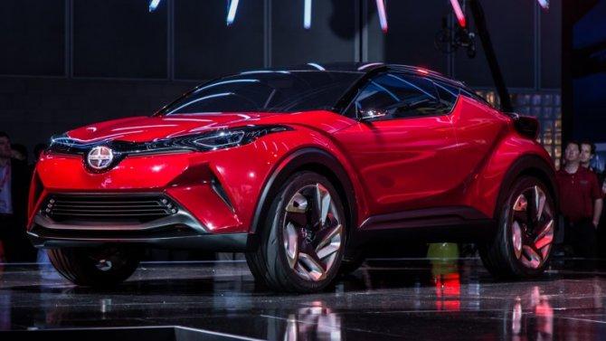 Toyota работает над двумя электрокроссоверами