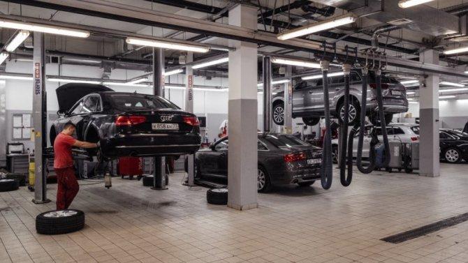 ВРоссии отзывают три модели Audi