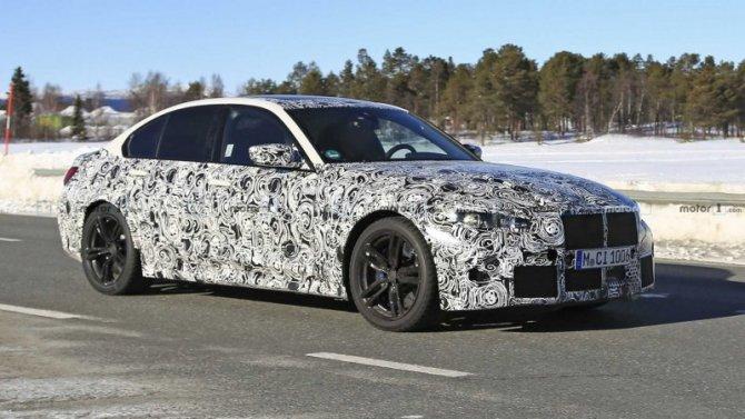 Новый BMW M3 стал героем видеоролика