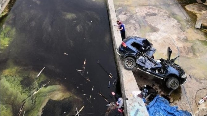 В ДТП на дамбе под Смоленском погиб человек